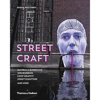 Gatan Craft - gerillaodling / Yarnbombing / ljus Graffiti Stre