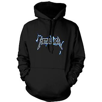 Mens-Hoodie - Metallica Logo - Rock Metal