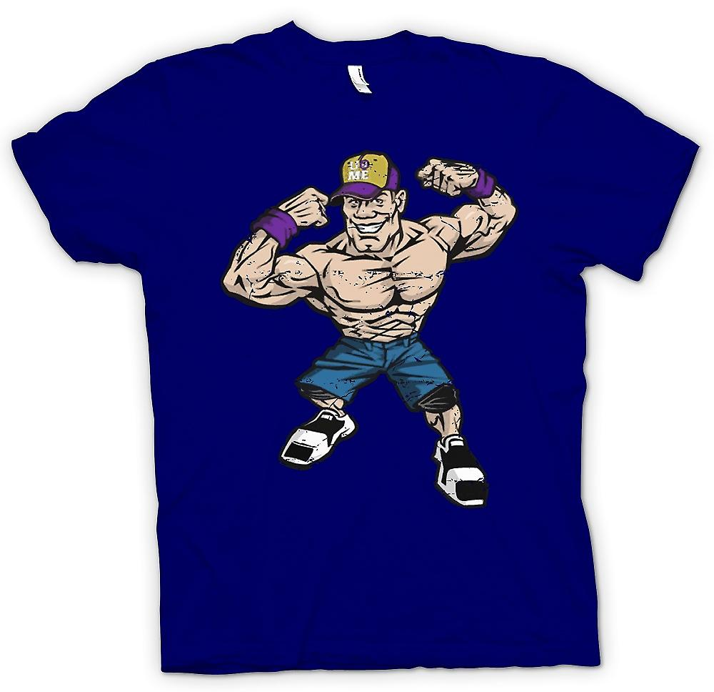Mens T-shirt - John Cena Caricature - catch Cool