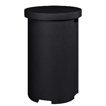 Happy Cocooning bijzettafel LPG rond 36x36xH62 cm - zwart