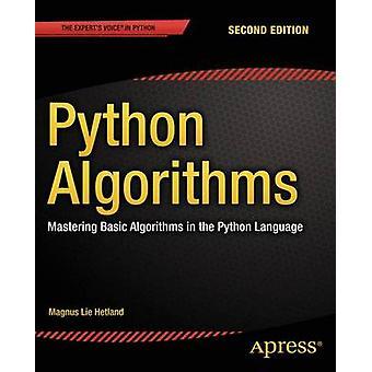 Algorithmes de Python - maîtriser les algorithmes de base en langage Python-