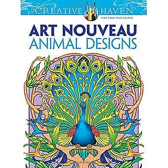 Art Nouveau djur mönster