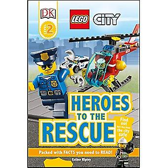 DK Readers L2: Lego City: Heroes to the Rescue