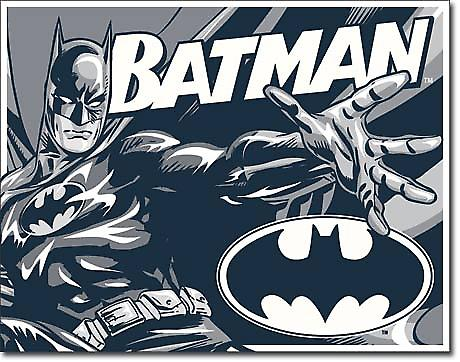 Batman (Duotone) metal wall sign (ga)
