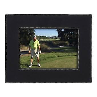 David Van Hagen Leatherette Landscape Photo Frame 8x10 - Black