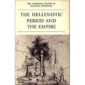تاريخ كامبردج للأدب الكلاسيكي الجزء 4 من إيستيرلينج آند P. هاء