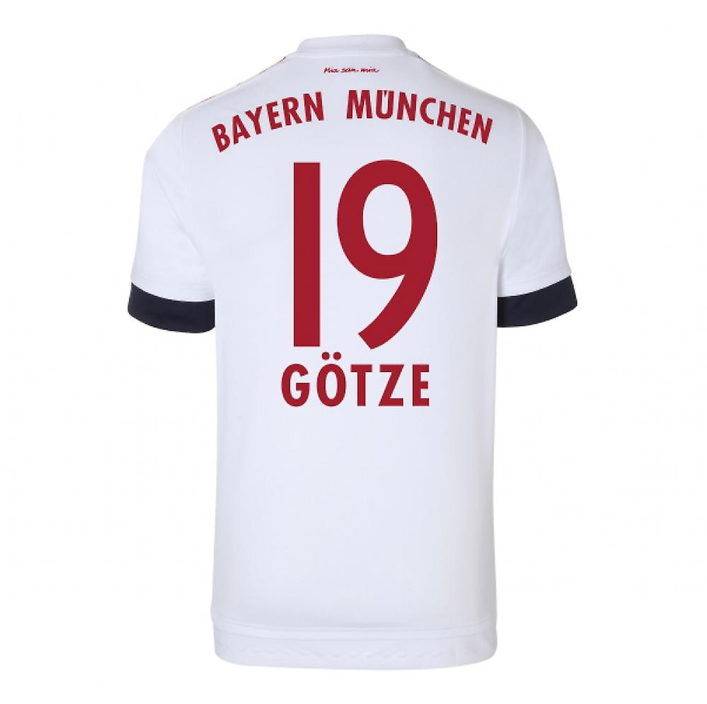 2015-16 Bayern Munich Away Shirt (Gotze 19)