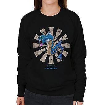 29193e396 Gyarados Retro Japanese Pokemon Women's Sweatshirt