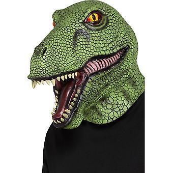 Dinosaur LaTeX full mask Carnival Dino T-Rex Maske lizard
