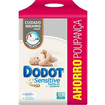 Dodot Sensitive Wipes 216 Units (Baby & Toddler , Diapering , Baby Wipes)