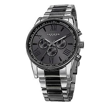 Akribos XXIV Männer AK736 Quarz-Multiklastion Stainless Steel Braclet Watch AK736TTB