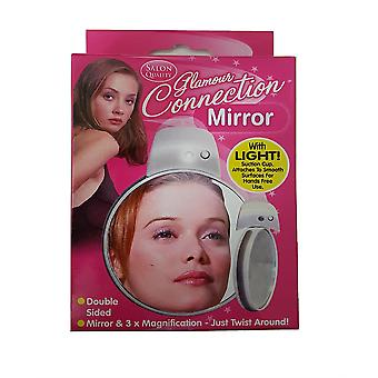 Glamour Connection Mirror With Light