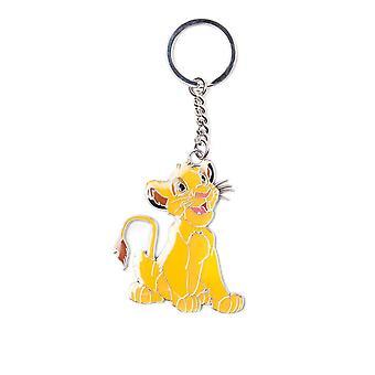 The Lion King Simba Metal Keyring