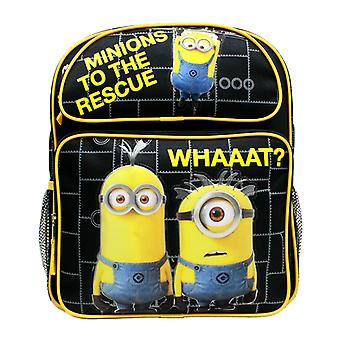 Medium Backpack - Despicable Me - Minions To The Rescue Black 14