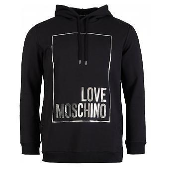 Moschino Box Logo Reg Fit Overhead Hoodie