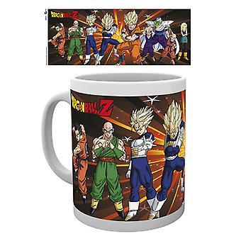 Dragonball Z Z strijders Boxed drinken mok