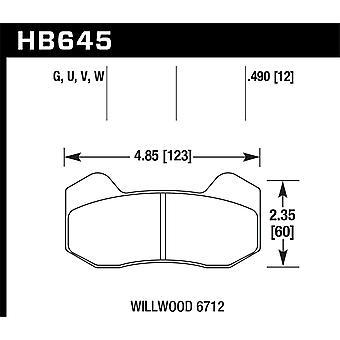 Hawk Performance HB645G.490 DTC-60