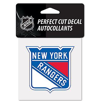 Wincraft decal 10x10cm - NHL New York Rangers