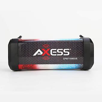 Altavoces multimedia Bluetooth personales Axess con batería recargable de litio - EE. UU.