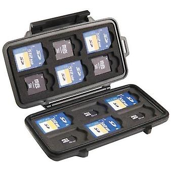 Itb solution pl0910-015-110e protective case for 12 sd cards 6 mini sd + 6 micro sd