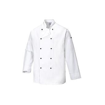 Portwest cornwall chefs jacket c831