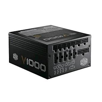 Cooler master v1000 power supply 1.000 w shielded modular cables 1 cooling fan  (rsa00-afbag1-eu)
