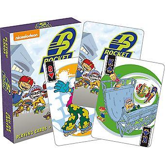Playing Card - Rocket Power Poker 52497
