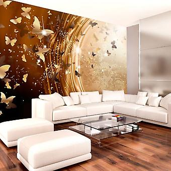 Artgeist Wallpaper Golden Path (Decoration , Wall murals , Wall murals standard)