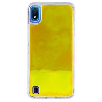 Hoesje CoolSkin Liquid Neon TPU voor Samsung A10 Geel
