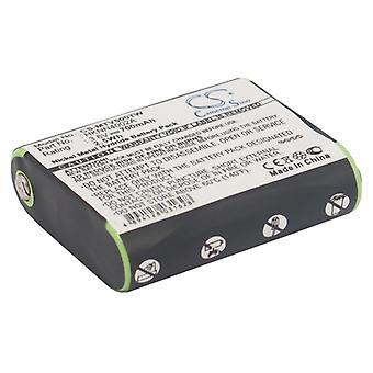 Batterie für Motorola 53615 HKNN4002 HKNN4002A HKNN4002 Talkabout EM1000 MC225