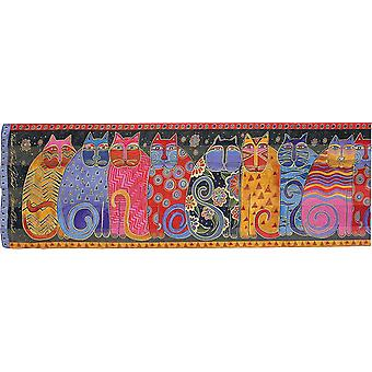 Laurel Burch Scarves Feline Friends Lbs 114