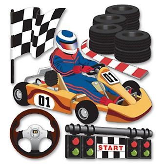 Jolee's Boutique Dimensional Stickers Go Carts Spjb 456