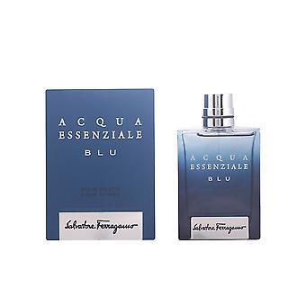 Salvatore Ferragamo Acqua Essenziale Blu Edt Spray 100 Ml voor mannen