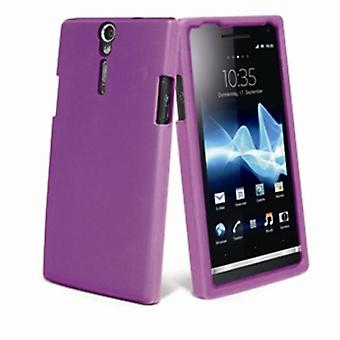 Muvit Lilac silicone sleeve Sony Xperia U (Home , Electronics , Telephones , Accessories)