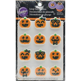 Dot Matrix Icing Decorations 12/Pkg-Jack-O-Lantern Dress Up W102121