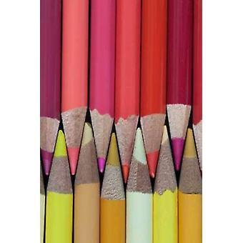 Crayons de couleur IV Poster Print par Kathy Mahan