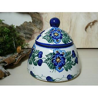 Sugar / jam jar, unique 48 - Bunzlau pottery tableware - BSN 6614