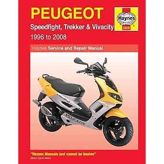 Peugeot Speedfight Trekker TKR and Vivacity Service and Repair Manual by Phil Mather