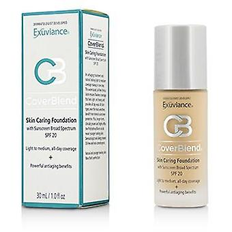 CoverBlend hud omsorg Foundation SPF20 - # rødme Beige - 30ml / 1oz