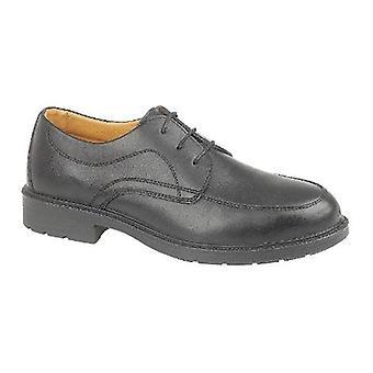 Gibt Stahl FS65 Mens Gibson Sicherheit Schuhe Synethetic Textil Leder Schnürschuh