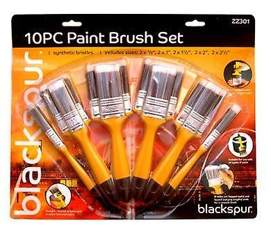 10Pc Paint Brush Set