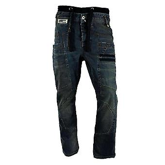 Henleys mannen Acton wortel Fit Denim Jeans