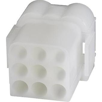 Socket enclosure - cable .140 MATE-N-LOK Total number of pins 9 TE Connectivity 1-480673-0 1 pc(s)