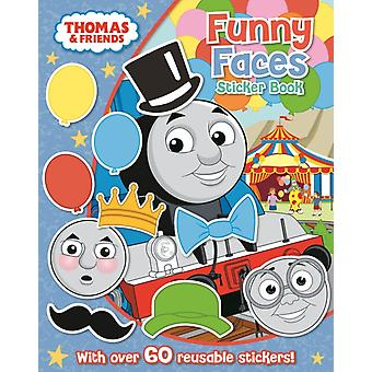 Thomas & Friends: Funny Faces Sticker Book (Paperback)
