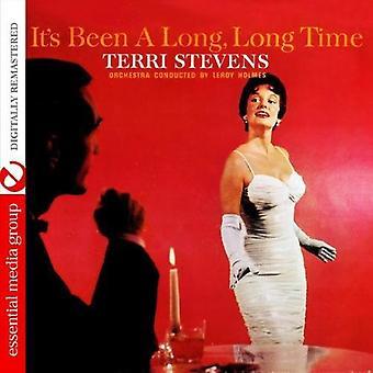 Terri Stevens - It's Been a Long Long Time [CD] USA import