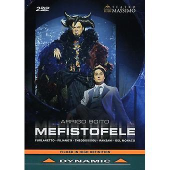 A. Boito - importazione di Mefistofele [DVD] Stati Uniti d'America