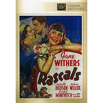 Rascals [DVD] USA import