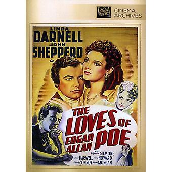 Loves of Edgar Allan Poe [DVD] USA import