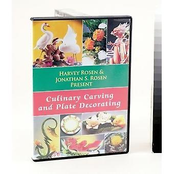 Kulinariske Carving & plade udsmykning [DVD] USA importerer