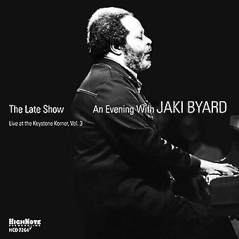 Jaki Byard - Late Show: En aften med Jaki Byard [CD] USA import